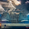 Hannes van Dahl (Sabaton) @ Lotto Arena - Antwerp/Amberes - Belgium/Bélgica