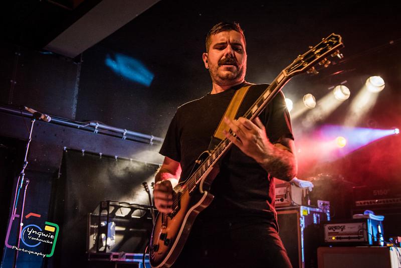Josh Bradford (Silverstein) @ Muziekodroom - Hasselt - Belgium