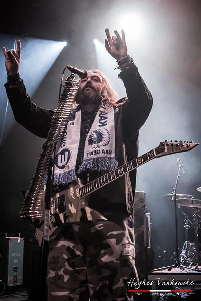 Max Cavalera (Soulfly) @ Vooruit - Gent - Belgium/Bélgica