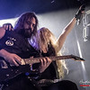 Pascal 'Paco' Jobin & Vicky Psarakis  (The Agonist) @ Epic Metal Fest - 013 - Tilburg - The Netherlands/Países Bajos