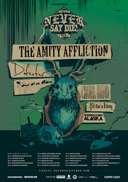 IMPERICON Never Say Die! Tour 2015 @ Trix - Antwerp/Amberes - Belgium/Bélgica