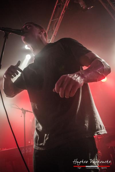 Michael Lessard (The Contorionist) @ Biebob - Vosselaar - Belgium/Bélgica