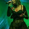 Isa García Navas (Therion) @ Eurorock Festival - Neerpelt - Belgium/Bélgica