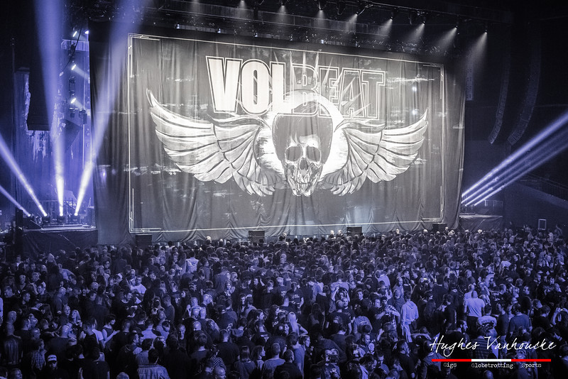 Volbeat @ Vorst Nationaal - Brussels - Belgium/Bélgica
