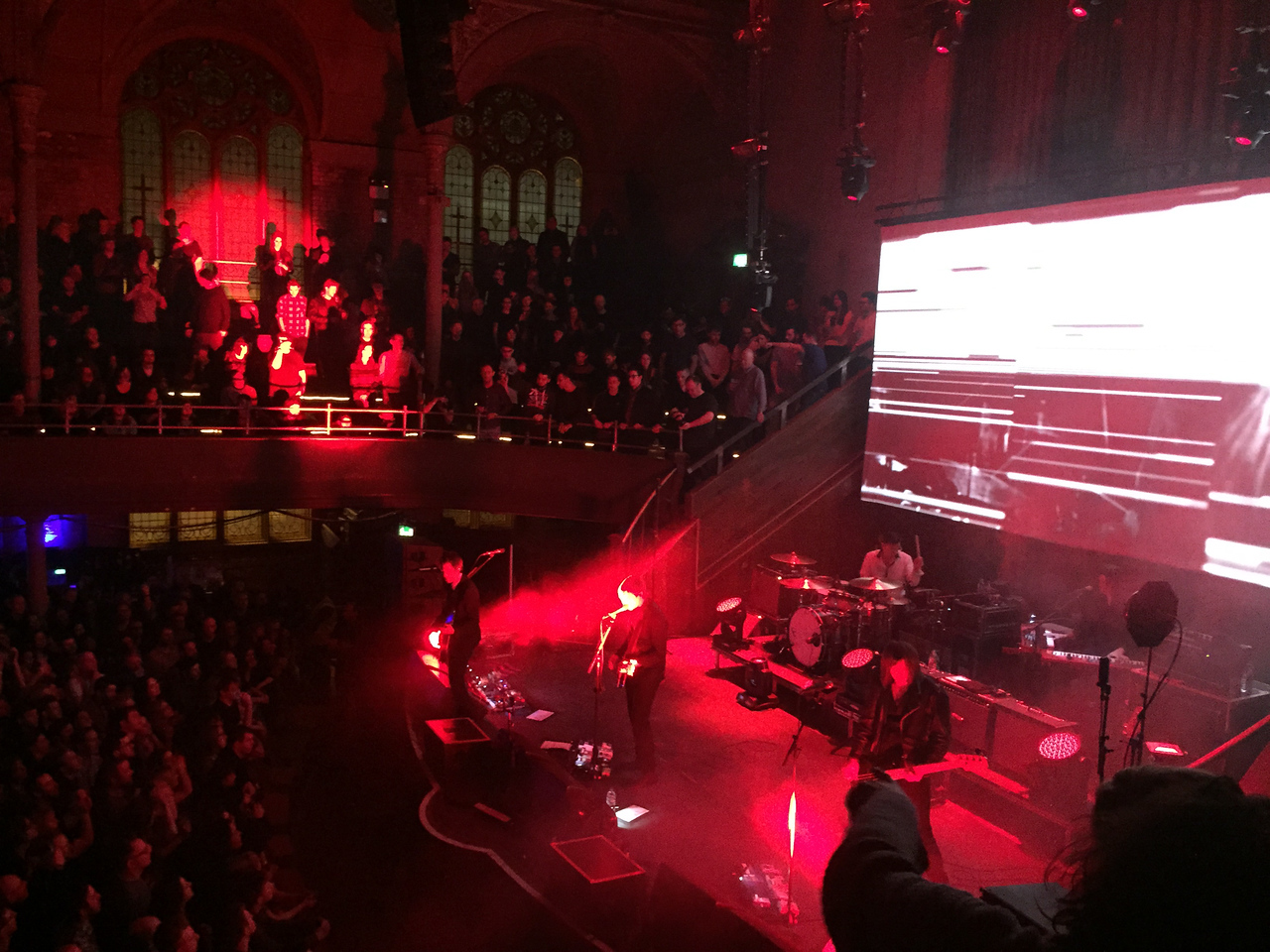 Interpol 2015-02-08 Albert Hall - Manchester UK
