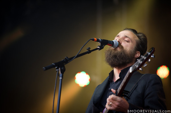 "Sam Beam of Iron & Wine performs on November 12, 2011 during ""Orlando Calling 2011"" at The Citrus Bowl in Orlando, Florida"