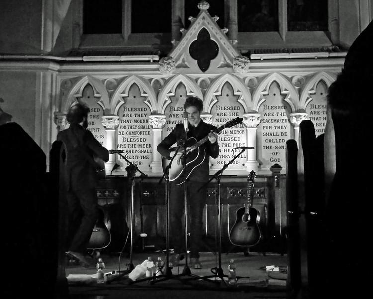 Josh Ritter at Unitarian Church Dublin