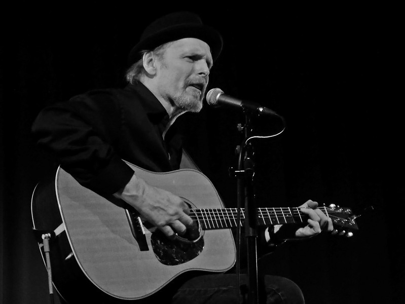 Tom Russell at Gateshead Old Town Hall. January 2012