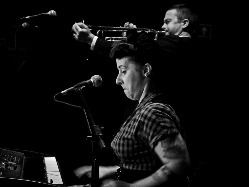 Davina and the Vagabonds at the Cluny, Newcastle