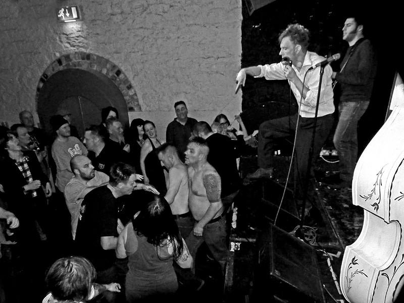 Th' Legendary Shackshakers At The Cluny, Newcastle