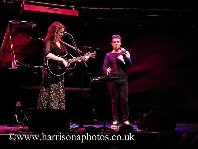 Beth Nielsen Chapman and Joe McElderry at Sage Gateshead