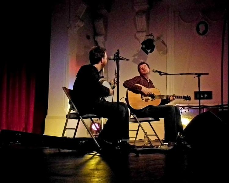 Kris Drever & Dr Eugene at Gateshead Old Town Hall