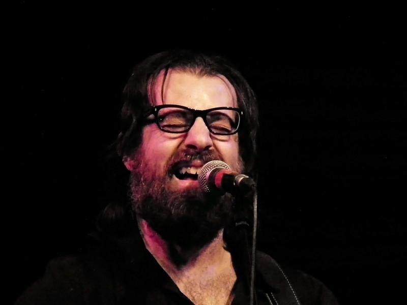 Sean Rowe at the Caedmon, Hall, Gateshead. Jumping Hot Club Promotion