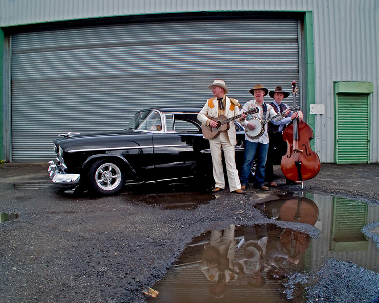 The Heavenly Thrillbillies and a Chevy 55