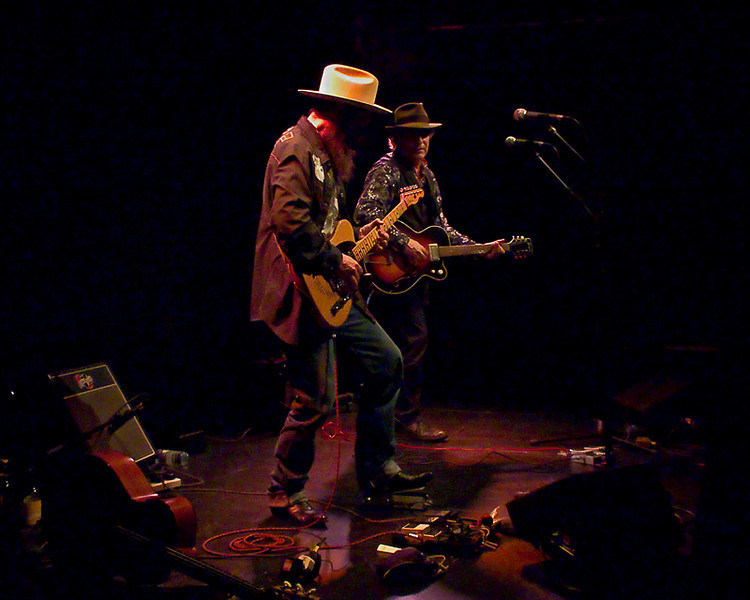 David Olney and Sergio Webb at Newcastle Live Theatre