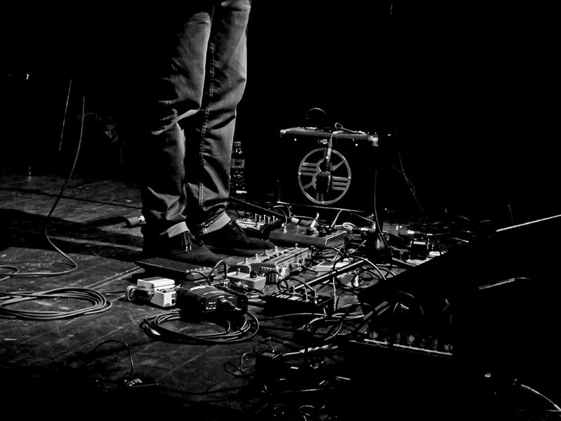a Little Gem effects pedals at Sage Gateshead Sept 2012
