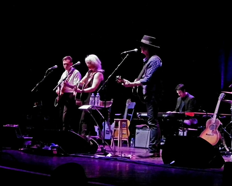Emmylou Harris and Rodney Crowell at Sage Gateshead