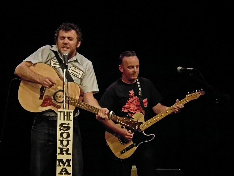 The Sour Mash Trio at the Live Theatre, Newcastle Quayside