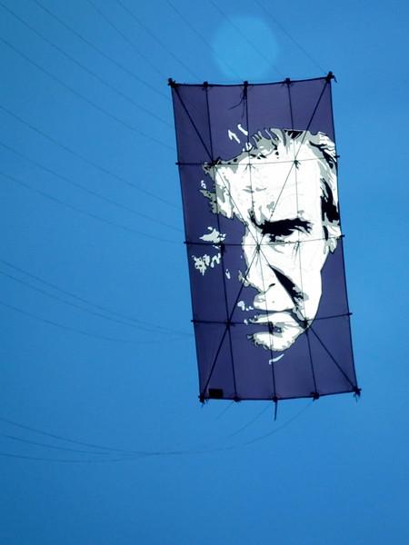 Johnny Cash kite