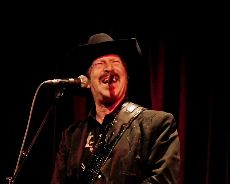 Kinky Friedman at the Jumping Hot Club, Caedmon Hall Gateshead