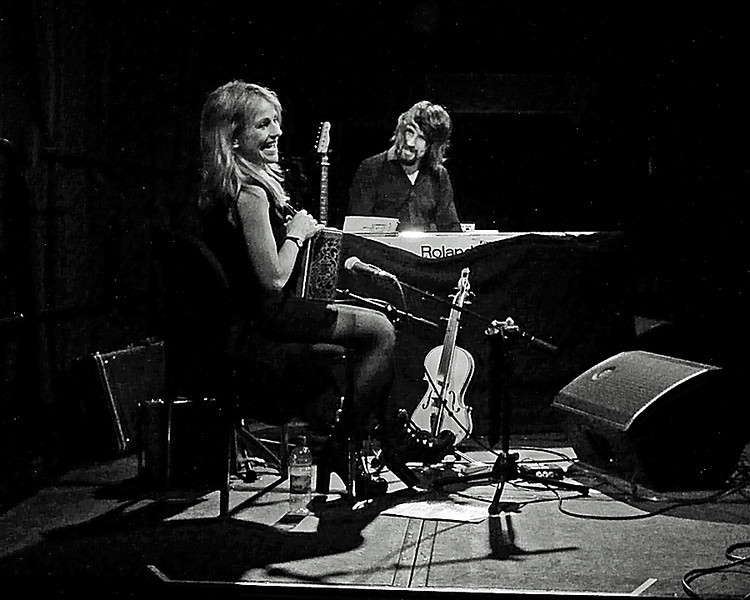 Sharon Shannon at the Jumping Hot Club Caedmon Hall Gateshead