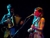 Ruth Moody from the Wailin Jennys & Adrian Dolan at Cluny II, Newcastle