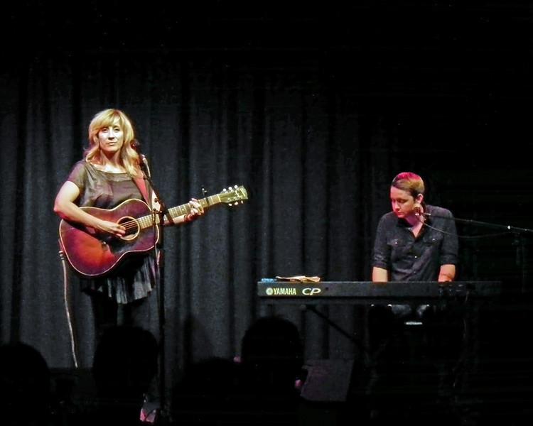 Amy Speace and John Fullbright at the Jumping Hot Club, Caedmon Hall, Gateshead