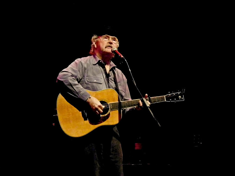 Folk legend Tom Paxton at Sage Gateshead