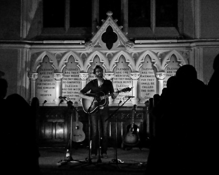 Stephen Kellogg  at Unitarian Church Dublin