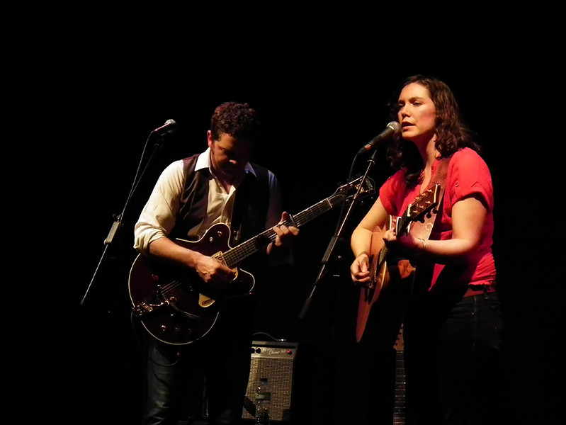 Singer-songwriter Catherine MacLellan with Chris Gauthier at Live Theatre Newcastle