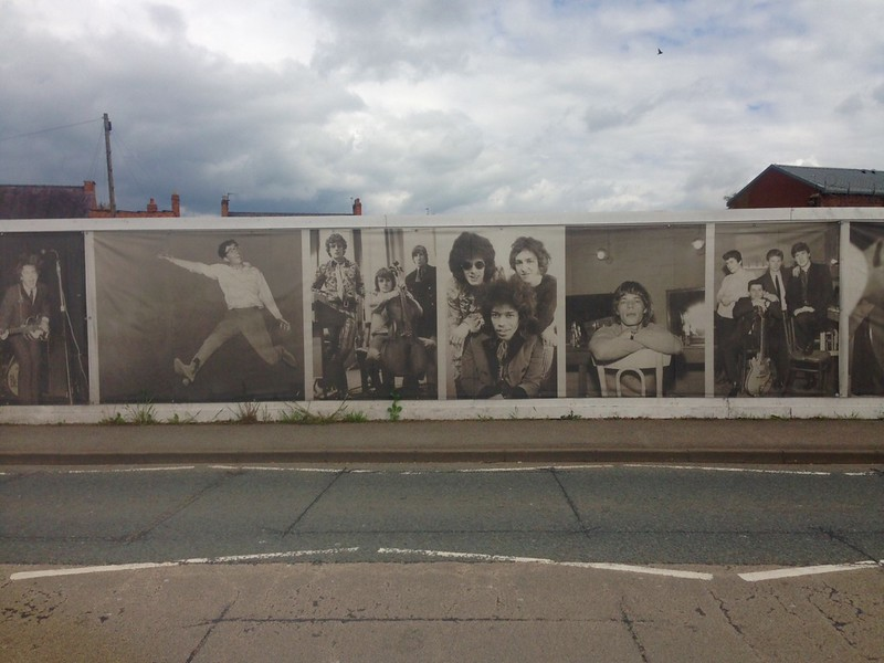 Rock Legends 'Street Art' by Paul Bertliff OBE