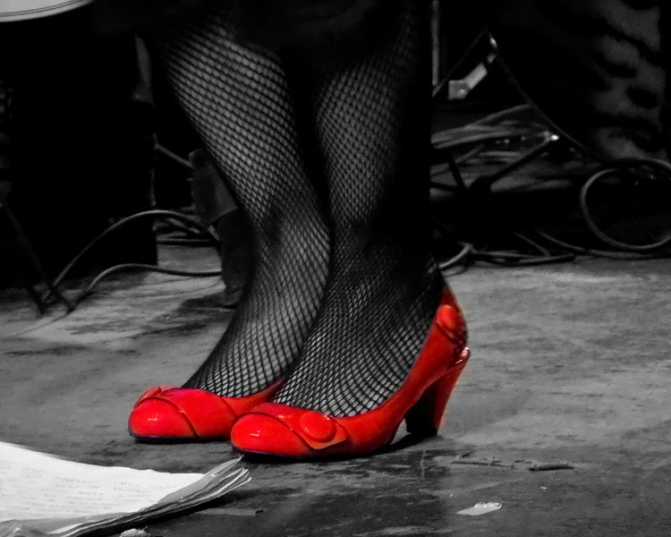 The Angels wanna wear my red shoes