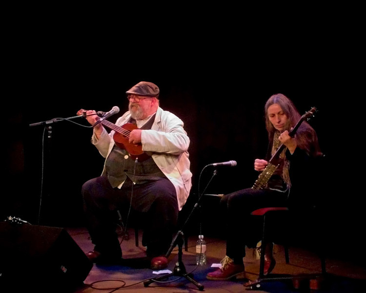 George Welch and Christine Jeans at Live Theatre Newcastle