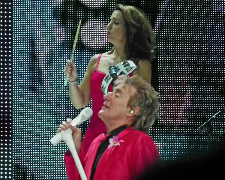 Rod Stewart at Arena Newcastle 2013 (from the Sound Desk)