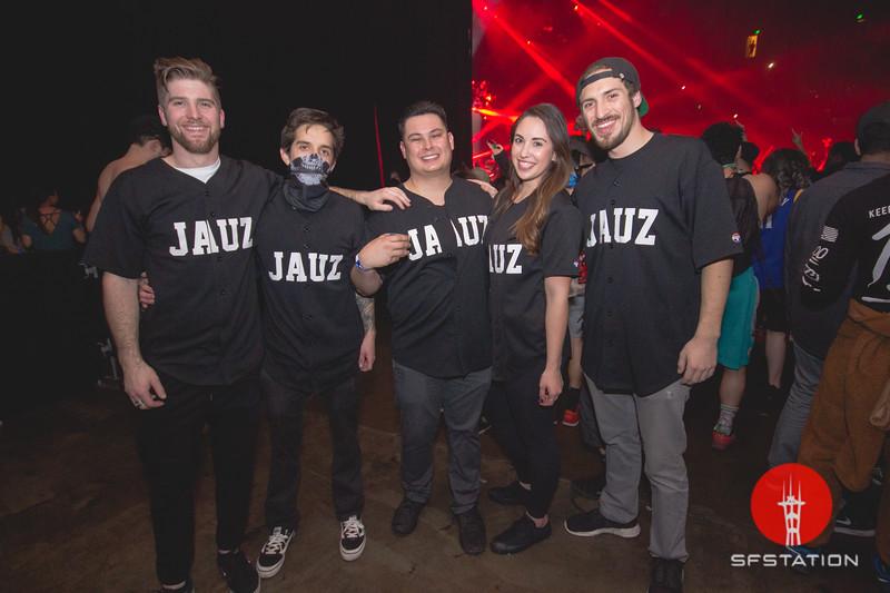 JAUZ, Jan 28, 2017 at Bill Graham Civic Auditorium