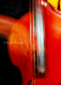 Jazz Bass Abstract
