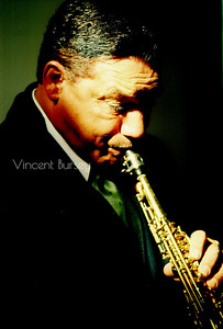 Saxophonist Dennis Springer, Ken Gregory Studios, Atlanta, January 26, 2003