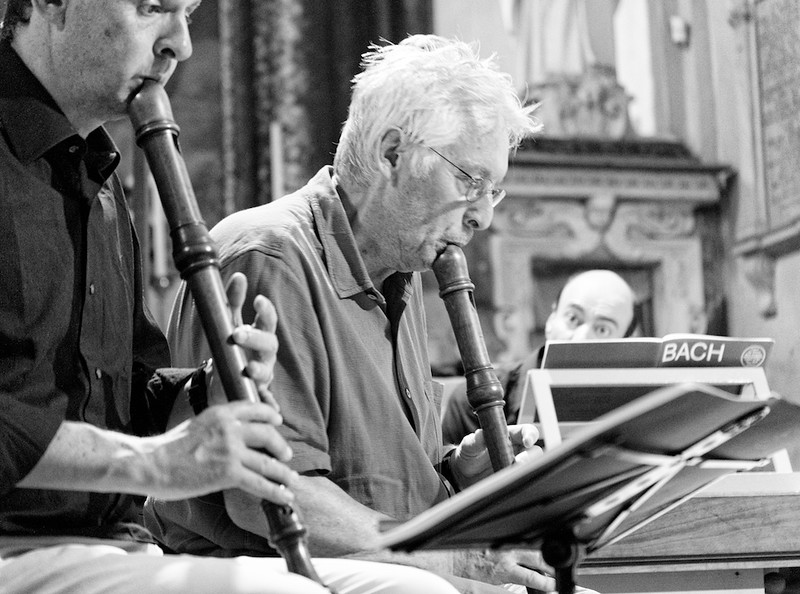 Lorenzo Cavasanti, Walter Van Hauwe e Sergio Ciomei