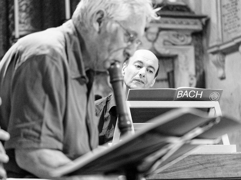 Walter Van Hauwe e Sergio Ciomei