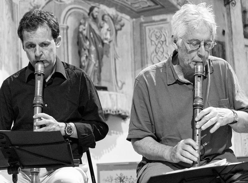 Lorenzo Cavasanti e Walter Van Hauwe