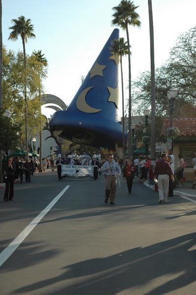 JWHS Band Florida Trip - Marching