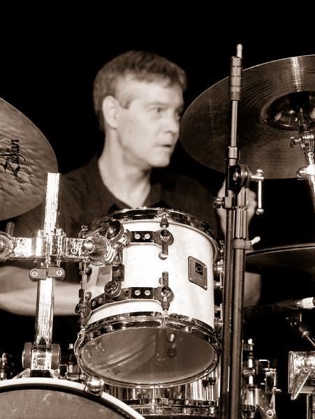 2 Jeff Sipe, Percussion, Jaafar Music - Sep 21 2007, Carrboro ArtsCenter (943p)