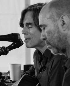 Jackson Browne and John Hall.  Clearwater sponsors concert 2011.