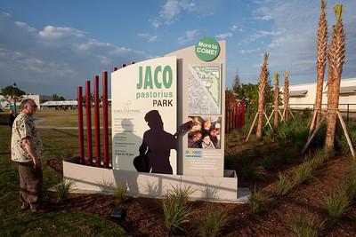 Jaco Park Ribbon Cutting Opening Ceremony honoring Jaco Pastorius