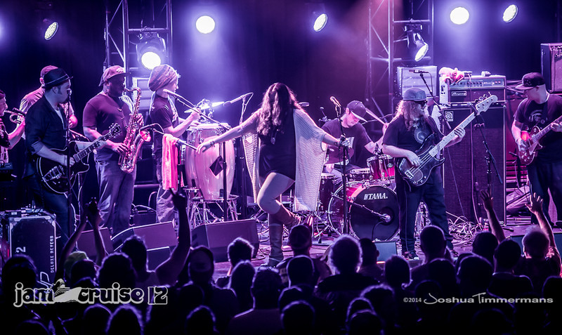 Lettuce - Pantheon Theater - Jam Cruise 12 - 1/4/14 - MSC Divina. ©Josh Timmermans 2014