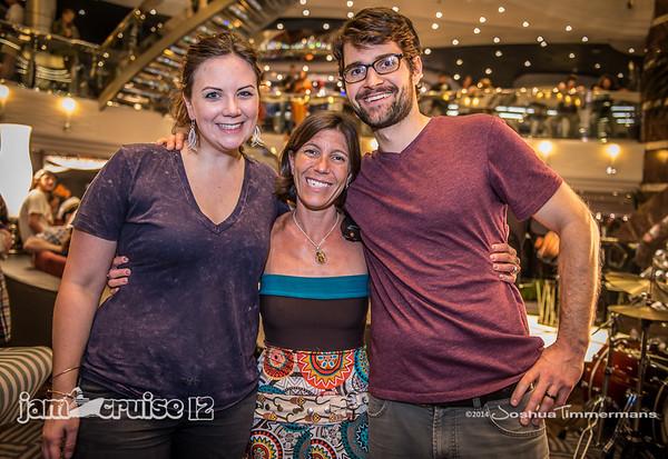 Jam Cruise 12 - Artists, Fans, & Cloud 9 Team Members - 1/4/14 - MSC Divina - Miami, FL. ©Josh Timmermans 2014