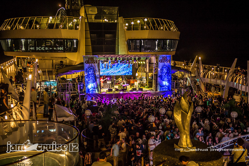 Robert Randolph & The Family Band - Pool Deck Stage - Jam Cruise 12 - 1/4/14 - MSC Divina. ©Josh Timmermans 2014