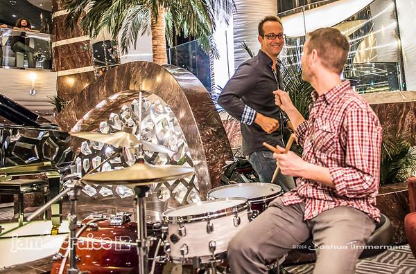 Joel Cummins & Friends - Atrium - Jam Cruise 12 - 1/4/14 - MSC Divina. ©Josh Timmermans 2014