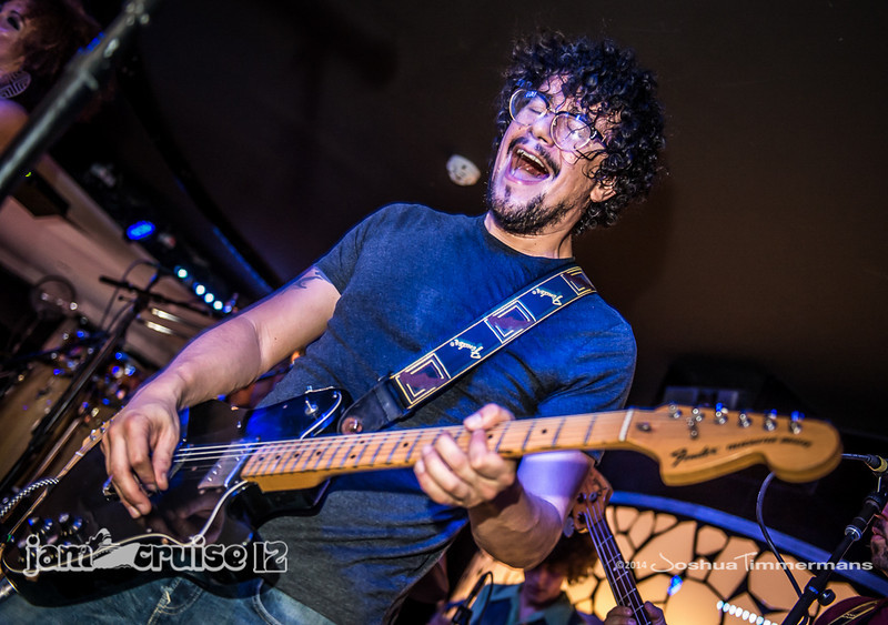 Orgone - Black & White Lounge - Jam Cruise 12 - 1/4/14 - MSC Divina. ©Josh Timmermans 2014