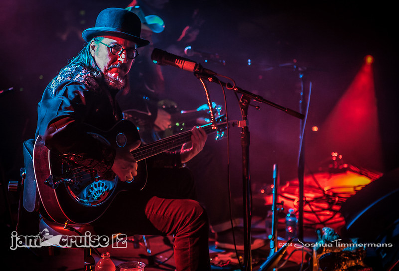Les Claypool's Duo De Twang - Pantheon Theater - Jam Cruise 12 - 1/4/14 - MSC Divina. ©Josh Timmermans 2014